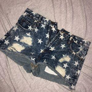 Forever 21 star shorts